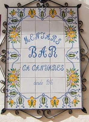 Restaurante Casa Canyares en Quatretondeta(Alicante)